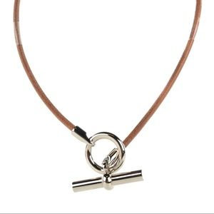 Hermès Natural Bridle Glenan Necklace